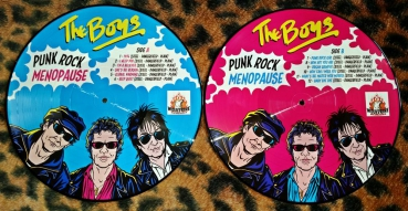 THE BOYS - Punk Rock Menopause Picture LP